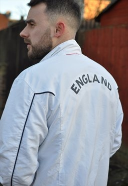 Umbro 00's Y2k England football windbreaker track jacket