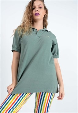Lacoste Branded polo t-shirt in green