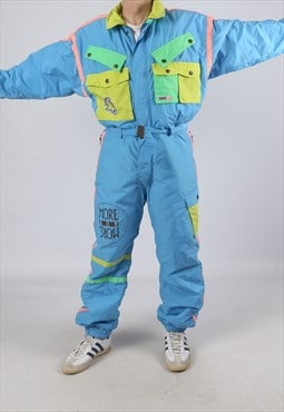 "Vintage ELHO Full Ski Suit Snow Sports L 42 - 44"" (K5R)"