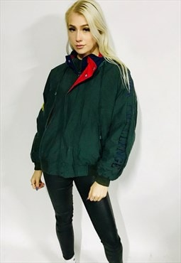 vintage NAUTICA CHALLENGE jacket outdoors spellout winter L