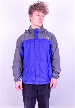 Vintage The North Face Hyvent Jacket in Blue & Grey