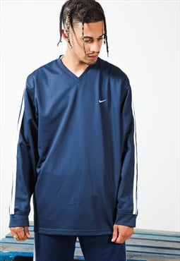 Retro 90's Nike V-Neck Pullover Jacket / S5778