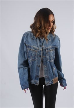 Vintage Denim Jacket UK S 10 (KBO)