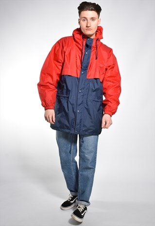 VINTAGE HELLY HANSEN HOODED SAILING ANORAK