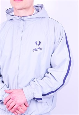 Vintage Fred Perry Jacket in Baby Blue