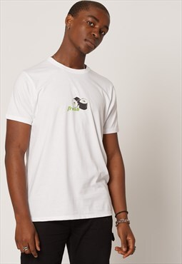 Sustainable Organic Cotton Sushi T-shirt White