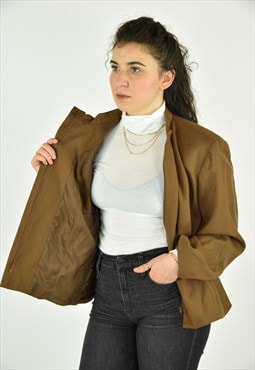 Vintage 90's Talbots Brown Jacket Size 22