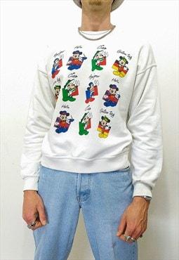 Vintage 90s Disney Mickey mouse sweatshirt