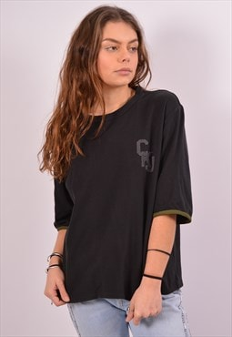 Vintage Calvin Klein T-Shirt Top Black