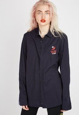 Vintage Moschino Navy Shirt