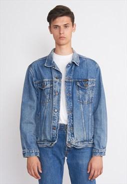 Vintage Blue WRANGLER Denim Jacket