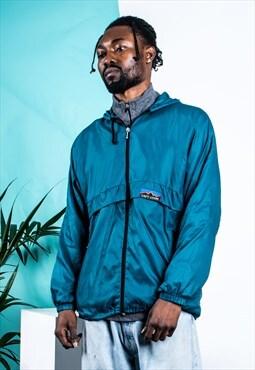 Vintage Rain Jacket in Turquoise