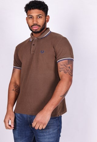 VINTAGE FRED PERRY POLO SHIRT T834