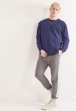 Vintage Ralph Lauren Long Sleeve Top Blue