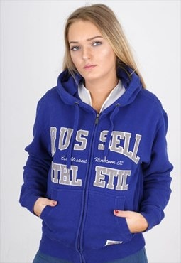 Vintage Blue Russell Athletic  Sports Jacket