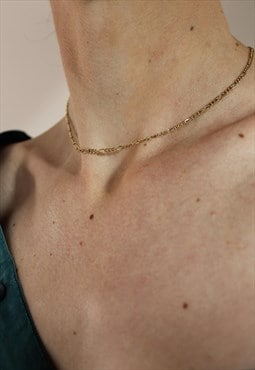 Vintage 80s Pierre Cardin Belcher Chain Necklace