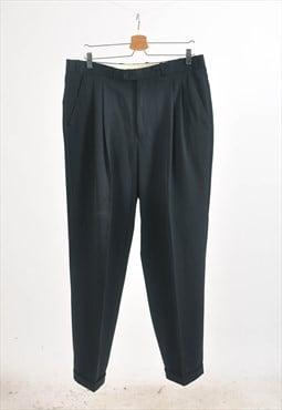 Vintage 90s trousers in black