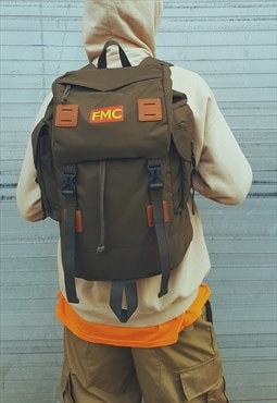 FMC Military Backpack Olive Green