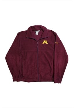 Columbia Maroon Fleece