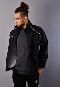 Black Umbro Shell Jacket TJ6507