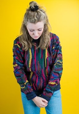 Rare Vintage Coogi Hand-Knitted Australian Jumper