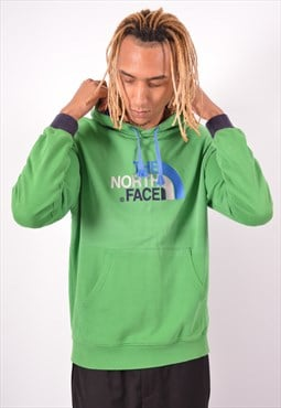 Vintage The North Face Hoodie Jumper Green