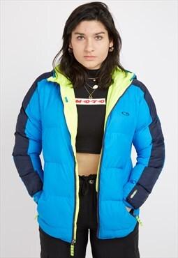 79e4cd60046f Vintage Blue Champion Jacket