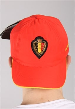 Vintage Nike Belgium Football Cap Hat