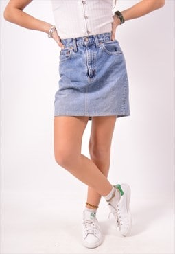Vintage Levi's 505 Denim Skirt Blue