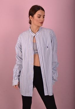 Blue Ralph Lauren Striped Shirt GRL3563