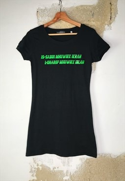 Y2k inspired t-shirt dress