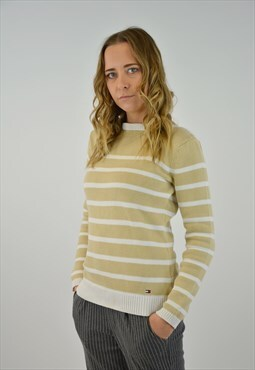 Vintage Tommy Hilfiger knit sweatshirt for woman