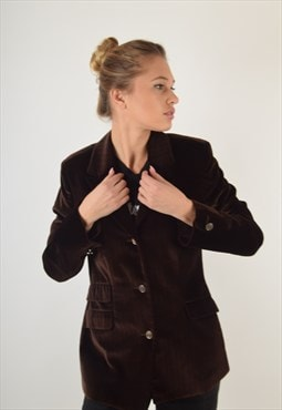 Versace Jeans Couture Velvet Blazer Made in Italy (2838)