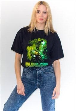 Retro Dunlop Racing Moto T-Shirt