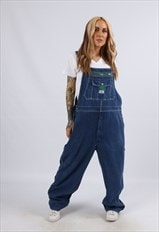 Vintage USA LIBERTY Denim Dungarees PLUS SIZE 18 2XL (A1J)