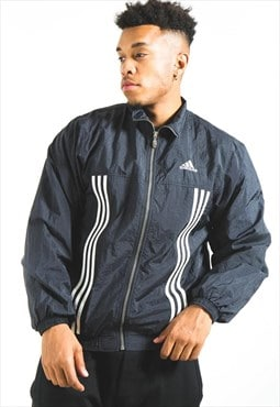 Vintage 80s Adidas Shell Jacket / S3897