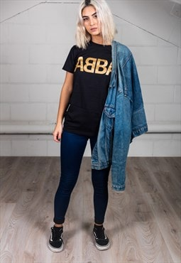 Official ABBA Gold Logo Unisex T-Shirt