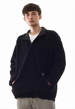 Vintage PATAGONIA Pullover Jacket 90s Black