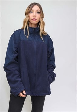 Vintage Retro Oversized Starter Fleece
