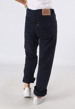 LEVIS 501's Denim Jeans Boyfriend High Waisted UK 12   (83W)