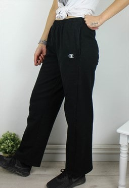 Vintage Champion Joggers Sweatpants with Logo