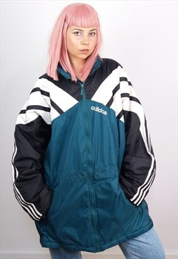 Vintage 90's ADIDAS Unisex Oversized Winter Jacket