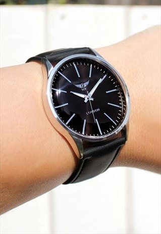 CLASSIC STYLE SLIM SILVER WATCH