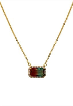 Bicolor necklace