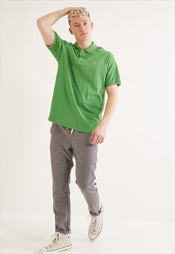 Vintage Lacoste Short Sleeve Polo Top Green