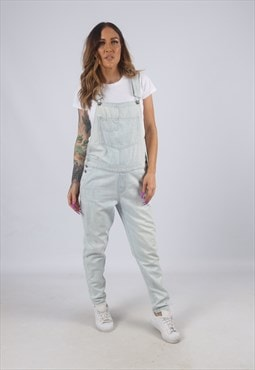 Vintage HOLLISTER Denim Dungarees Tapered UK 10 - 12 (K4H)