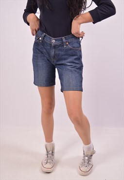 Vintage Levi's 529 Denim Shorts Navy Blue