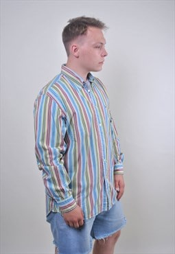 Tommy Hilfiger multicolor striped shirt, Size XL