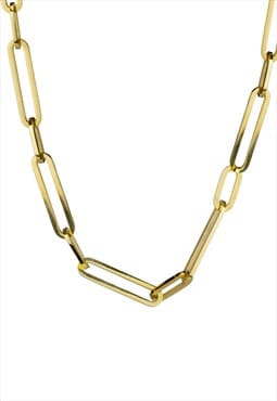 Short Link Chain, Gold