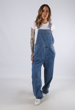Vintage GAP Denim Dungarees Wide Leg UK 14 (D4A)
